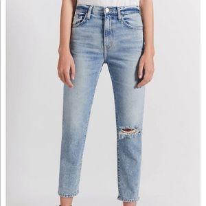 Current/Elliott Vintage Cropped Slim Jean Sz 27